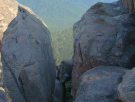 Bolders on top of Old Rag