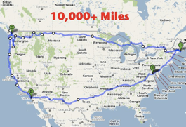 My 10,000 Mile Road Trip Ends