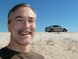 Me and my Camry on the Beach