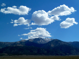 Clouds Over Boundary Peak