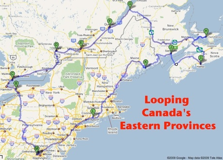 Map Of Canada Eastern Provinces.Canada S Eastern Provinces Good Pursuits