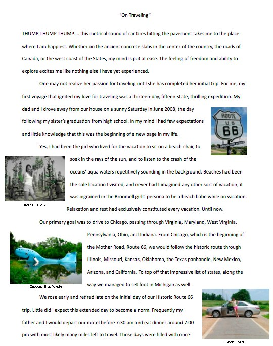 personal essay trip florida Click here to visit our frequently asked questions about html5 video  so you  sent them a long, in effect essay on what you thought but they.
