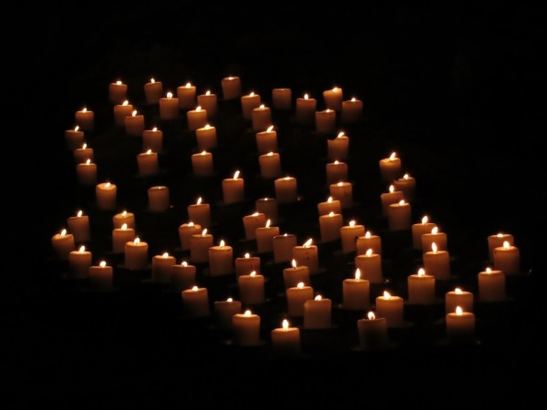 Today was the 84th anniversary of the day Rudy Falls was discovered, hence 84 candles.