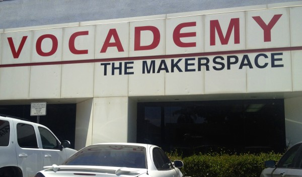 "Vocademy's Signage Proudly Proclaims it's a ""Makerspace""!"