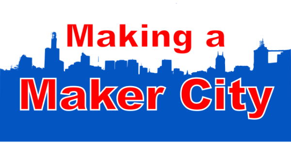 Maker City Skyline Pixabay CC0 License